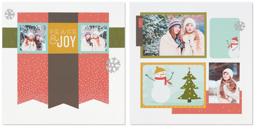 Happy Christmas Layout One
