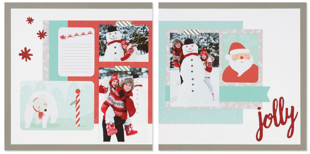 Happy Christmas Layout Two