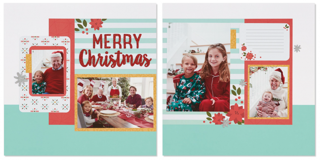Happy Christmas Layout Three