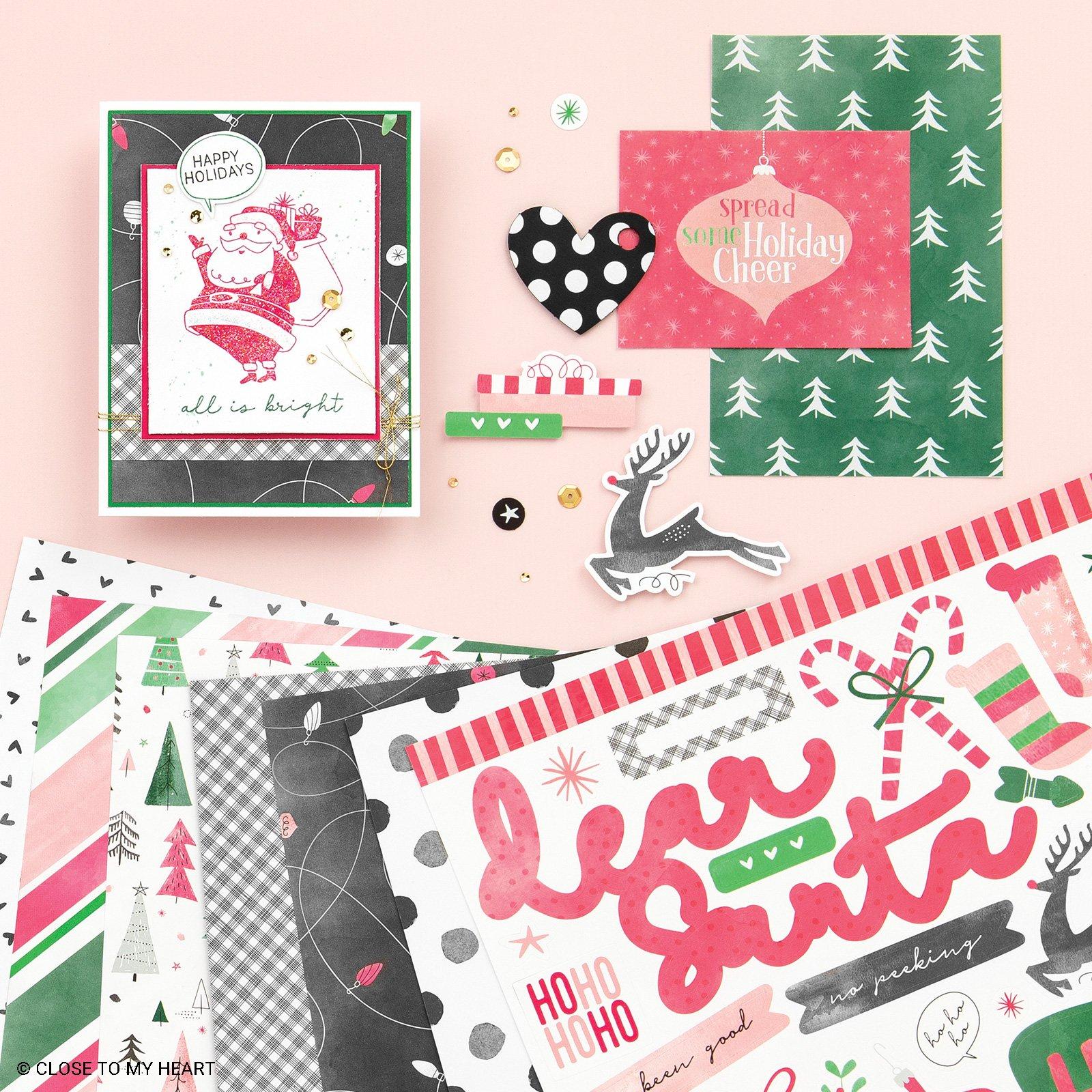 November Kit of the Month: Jingle Joy Scrapbook
