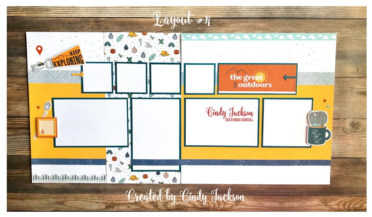 Scrapbook Cowgirl July Kit of the Month CTMH