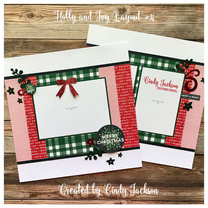 Holly and Ivy Scrapbook Workshop